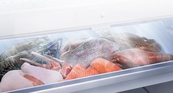 Ngăn đông mềm với nhiệt độ -30C duy trì dinh dưỡng và hương vị tươi ngon