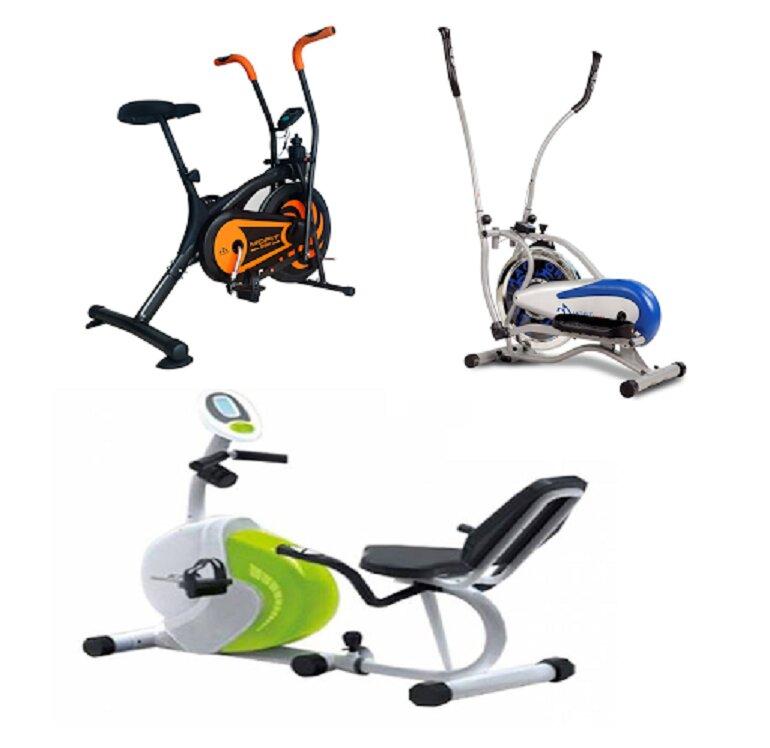 Xe đạp tập thể dục chính hãng đa dạng về kiểu dáng, chủng loại