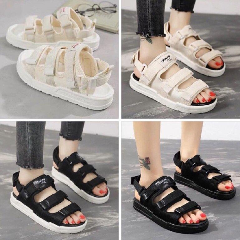 Giày sandal nữ Hàn Quốc đế bánh mì