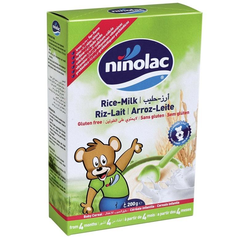Bột ăn dặm cho bé Ninolac