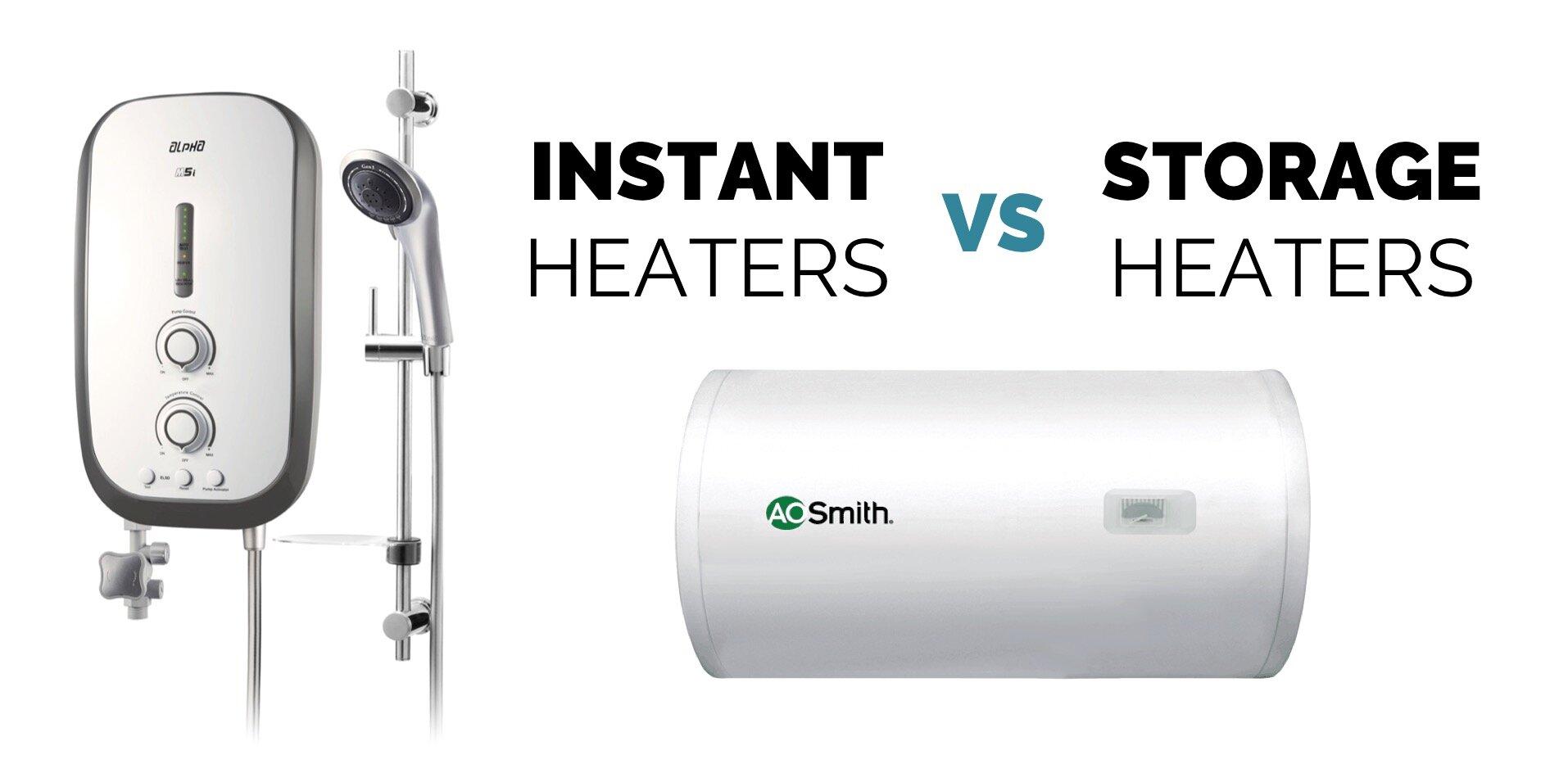 Chọn máy nước nóng trực tiếp hay gián tiếp