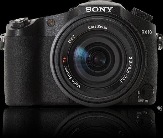 Thuộc dòng máy ảnh du lịch siêu zoom vì vậy hình dáng của Sony Cyber-shot DSC-RX10 nhìn khá giống các máy ảnh DSLR