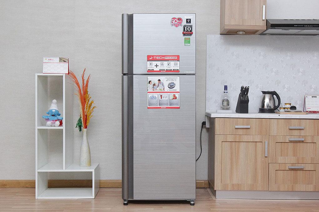 Tủ lạnh tiết kiệm điện Sharp Inverter sang trọng và hiện đại