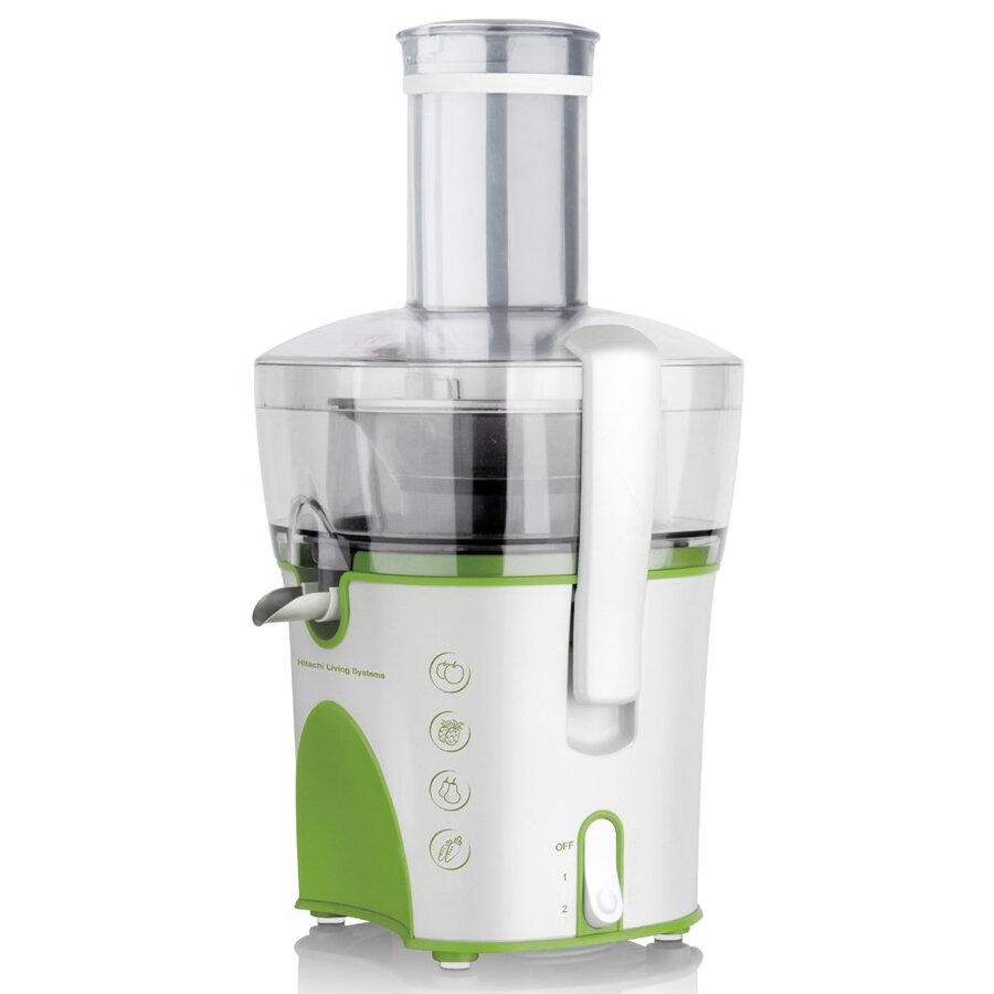 Máy ép trái cây Hitachi HJE-900p ép nhanh, lọc bã kỹ và rất dễ vệ sinh