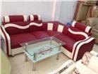Sofa Da họa tiết sóng ngang GHS-807