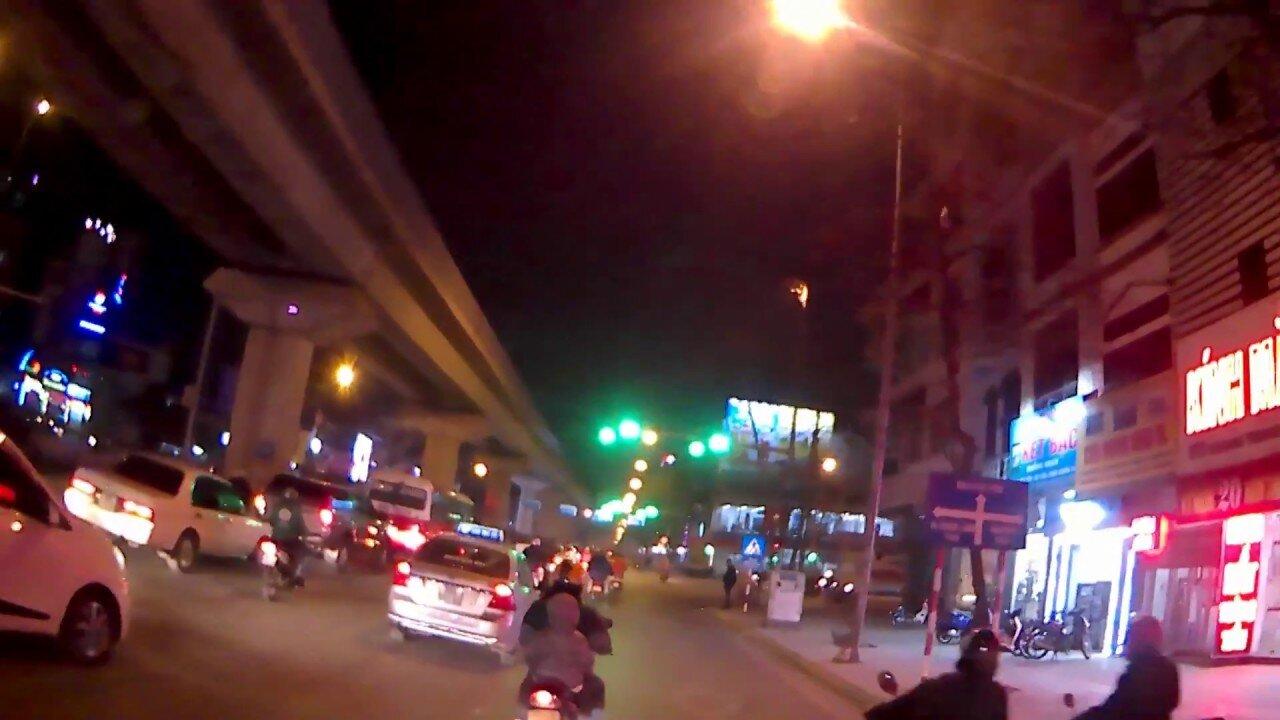 Test camera SjCam SJ4000 Air 4k vào ban đêm