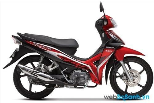 Honda Blade vẫn là chiếc xe số giá rẻ cực chát cho người dùng