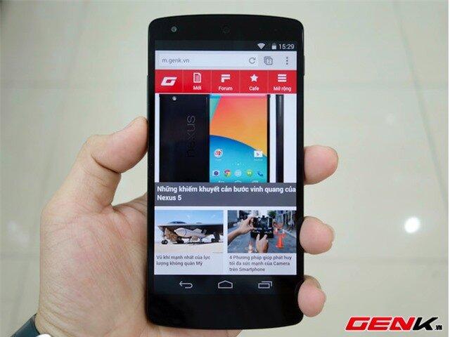 Mở hộp Nexus 5 tại Việt Nam