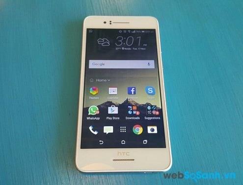 Điện thoại Desire 728G Dual vẫn được trang bị bộ loa kép BoomSound trứ danh của HTC đủ để thỏa mãn nhu cầu của các tín đồ âm nhạc