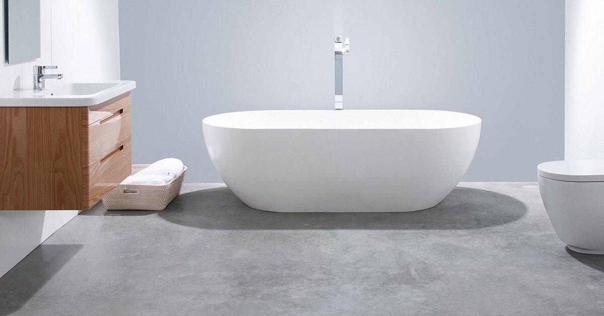bồn tắm tròn có vòi sen