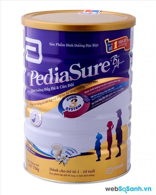 Sữa bột Abbott Pediasure B/A