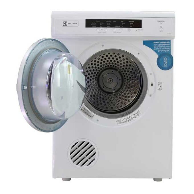 Máy sấy áo quần bền, đẹp và rất tiện dụng