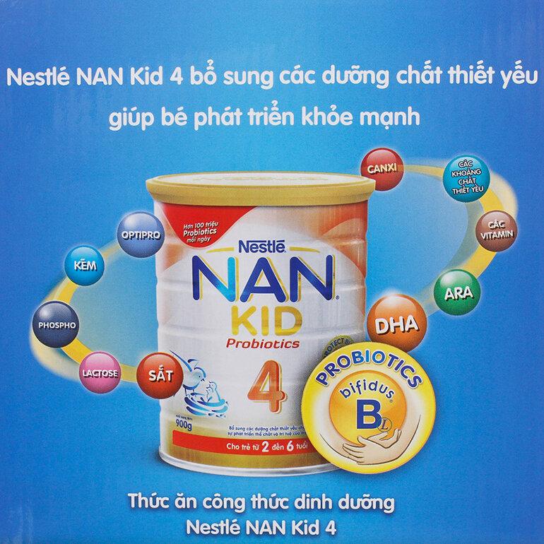 Sữa Nan có nhiều loại khác nhau (Nguồn: mombabycare.vn)
