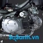 Động cơ trên Honda Wave RS