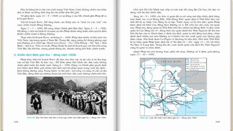 Học sách lịch sử 12 cùng với sách tham khảo