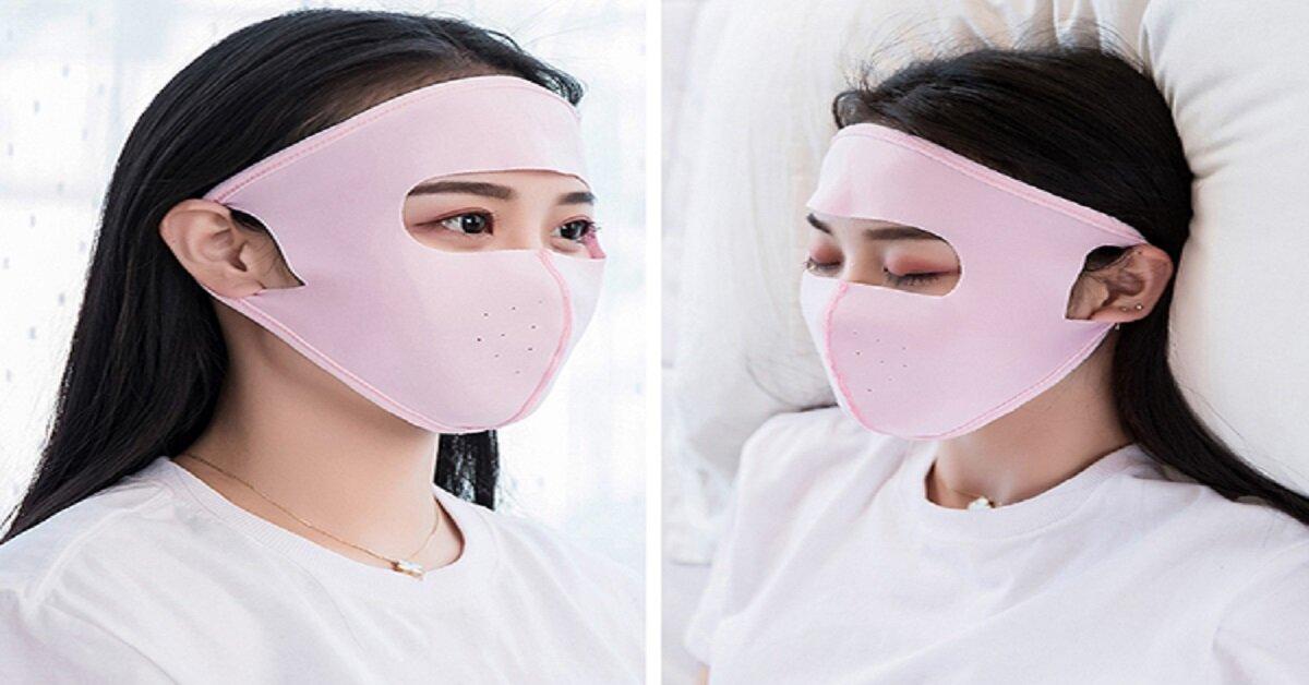 khẩu trang che mặt chống nắng