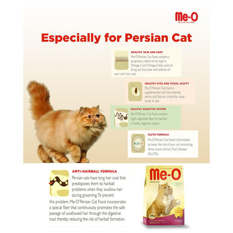 thức ăn chống búi lông cho mèo Me-O