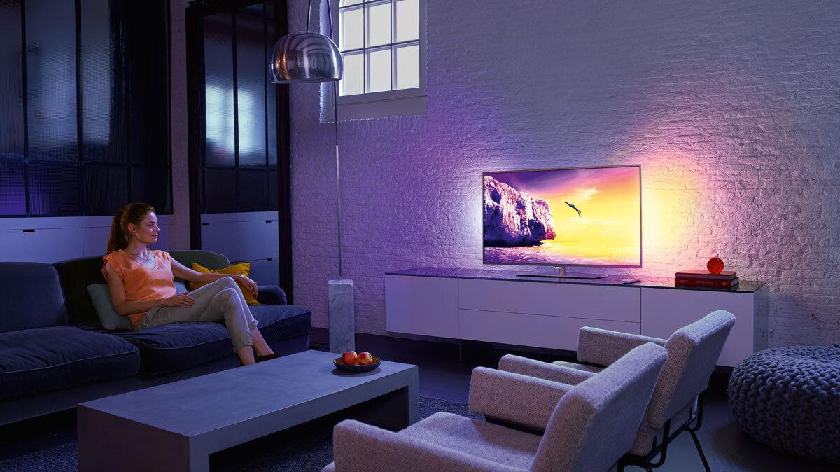 Smart tivi 4K Philips PUT6002S/67 cho chất lượng hình ảnh tuyệt đẹp