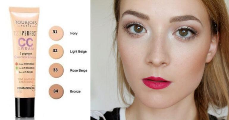 Review Bourjois 123 Perfect Colour Correcting cream - Kem nền che khuyết điểm hiệu quả cho mọi loại da đặc biệt thích hợp cho làn da khô, nhạy cảm
