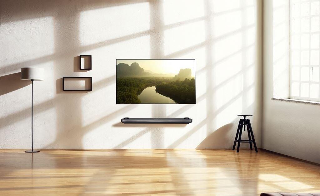 LG W8 được đánh giá là sản phẩm tivi ấn tượng của năm