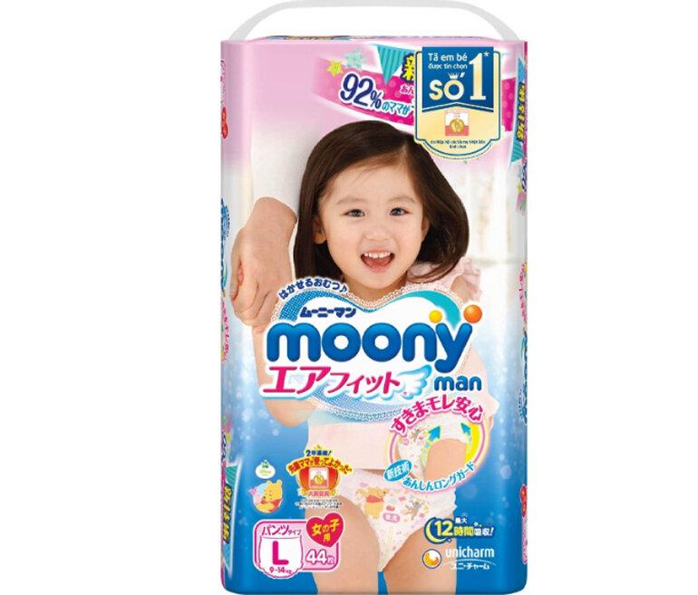 Bỉm Moony là sự lựa chọn hàng đầu của các mẹ bỉm sữa
