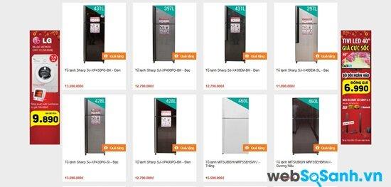 Trần Anh chú trọng giảm giá dòng tủ lạnh bình dân