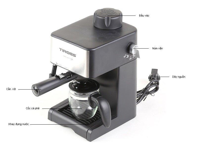 Máy pha cà phê TS621