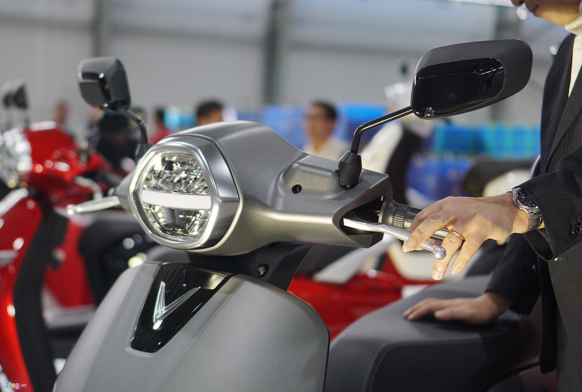 Xe máy điện VinFast trang bị nhiều tính năng hiện đại