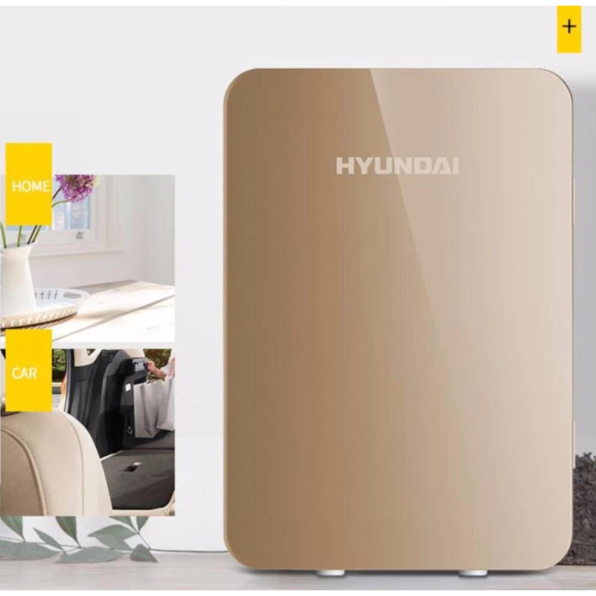 Tủ lạnh mini Hyundai có dung tích 6l.