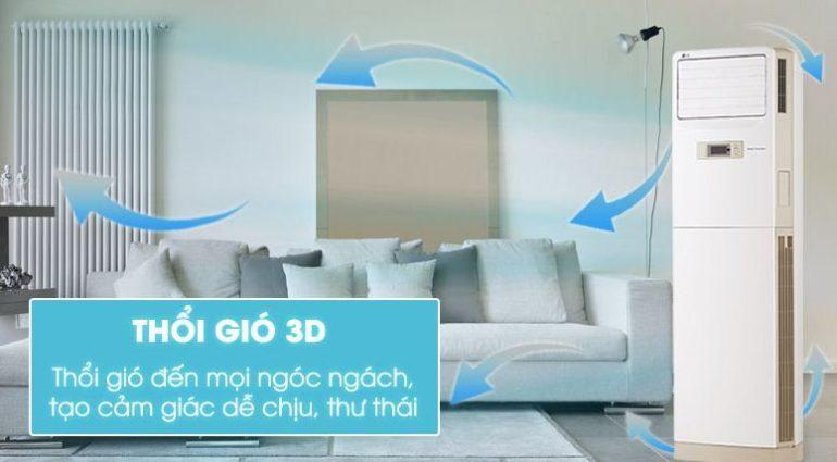 Điều hòa cây tủ đứng LG Inverter 2.5 HP APNQ24GS1A3 - Giá rẻ nhất: 22.490.000 vnđ