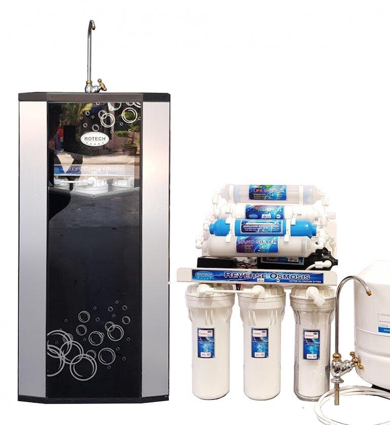 Bình lọc nước uống gia đình cung cấp nguồn nước chất lượng