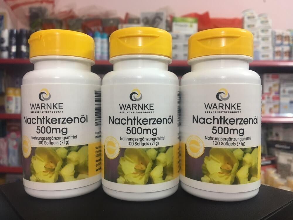 Tinh dầu hoa anh thảo từ thương hiệu Warnke của Đức