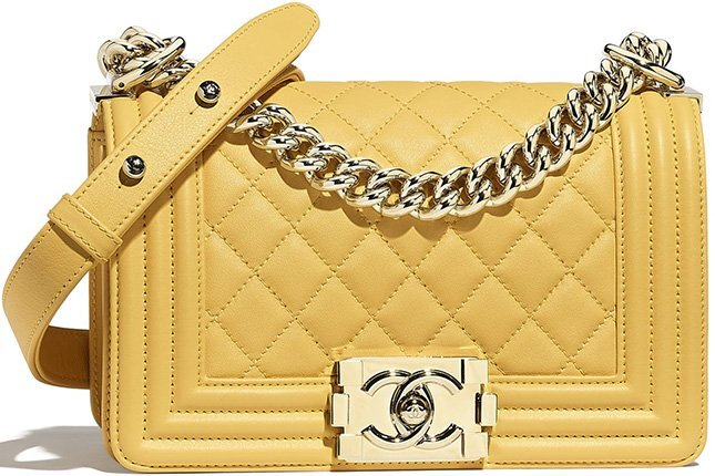 Chanel Small Classic Boy Bag