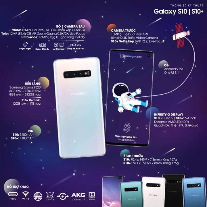Cấu hình Samsung S10
