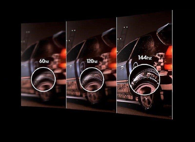 Cách chọn Tivi LED để xem thể thao tốt là chọn tivi có tần số quét cao