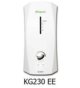 Bình tắm nóng lạnh trực tiếp Kangaroo KG230-EE (KG-230-EE) - 4500W, chống giật