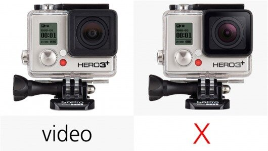 The GoPro Hero3+ can only use Protune when shooting video