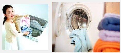 Khối lượng giặt chỉ nên bằng 80% khối lượng giặt tối đa