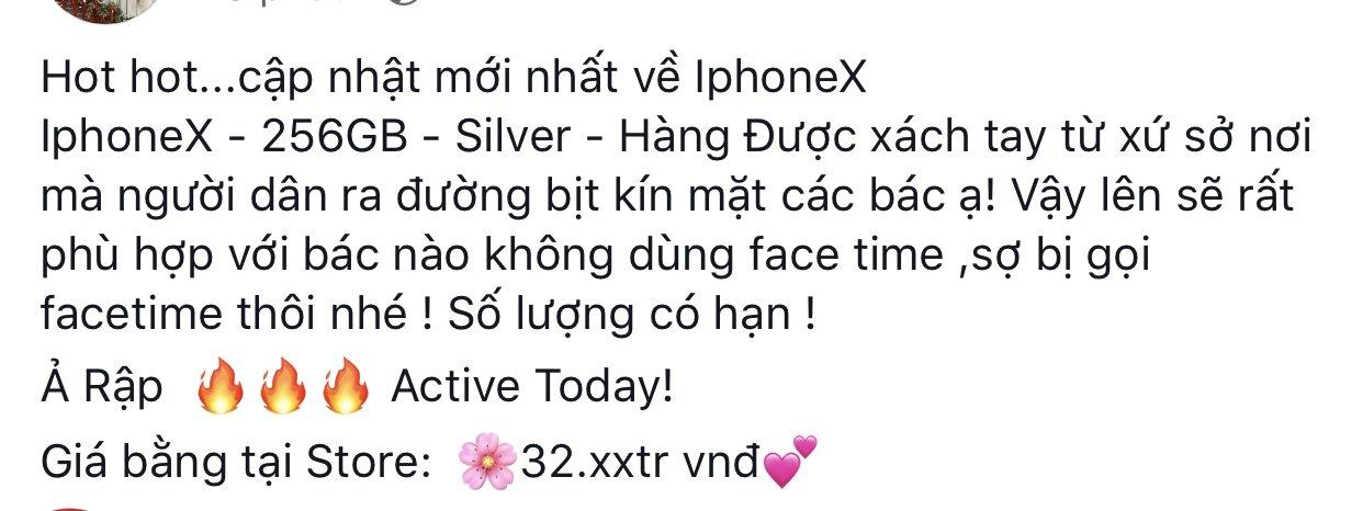 iphone x giá rẻ
