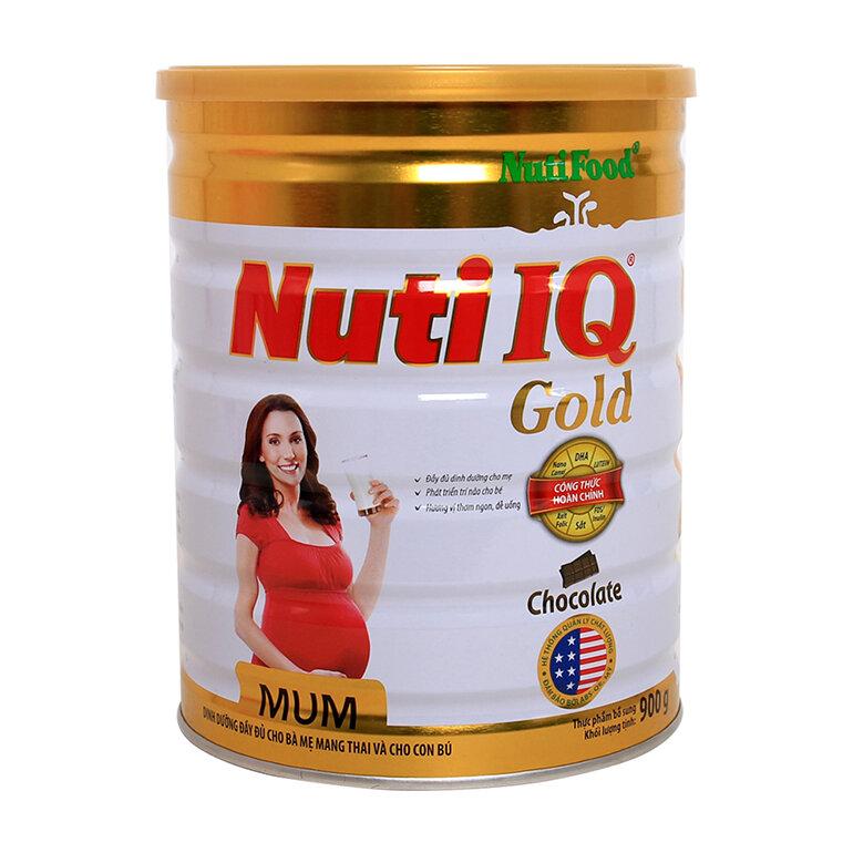 Hàm lượng chất dinh dưỡng cao cùng mùi vị thơm ngon, dễ uống giúp bổ sung dinh dưỡng đầy đủ cho cả mẹ và bé suốt thai kỳ (Nguồn: babyhugophulam.com)