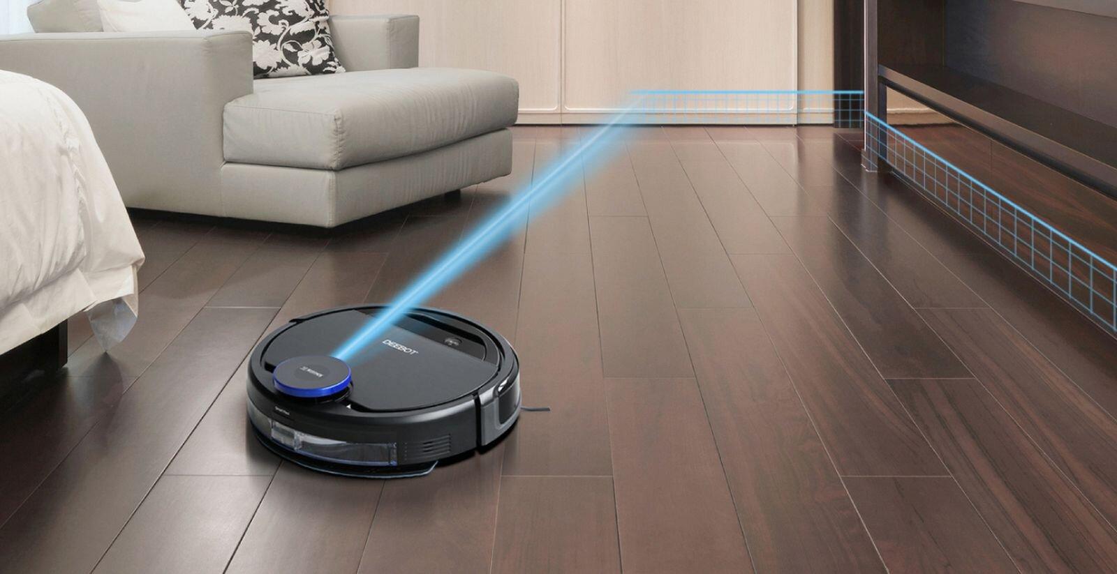 Robot hút bụi Ecovacs Deebot Ozmo 930 có nhiều ưu điểm vượt trội