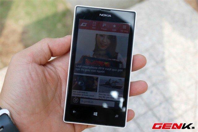 Lumia 525: Giá tốt, hiệu năng cao