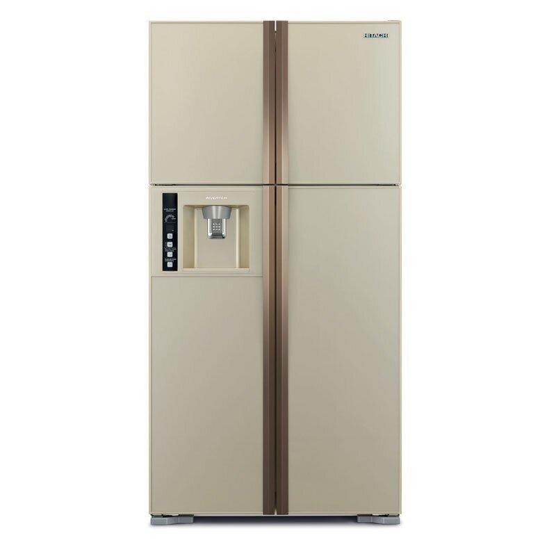 Tủ lạnh Hitachi R-W720FPG1X - 582 lít, 4 cửa, Inverter, màu GBK/ GBW)