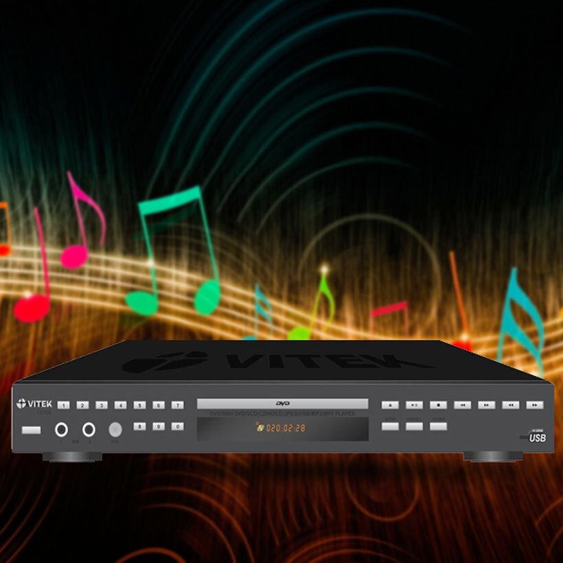 Đầu DVD karaoke 6 số Vitek CK105 sản phẩm được nhiều người ưa chuộng