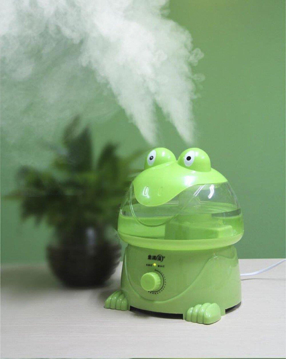 Alt + Caption: Máy phun sương tạo ẩm Magic Home HL-H203 có thiết kế hình thú độc đáo