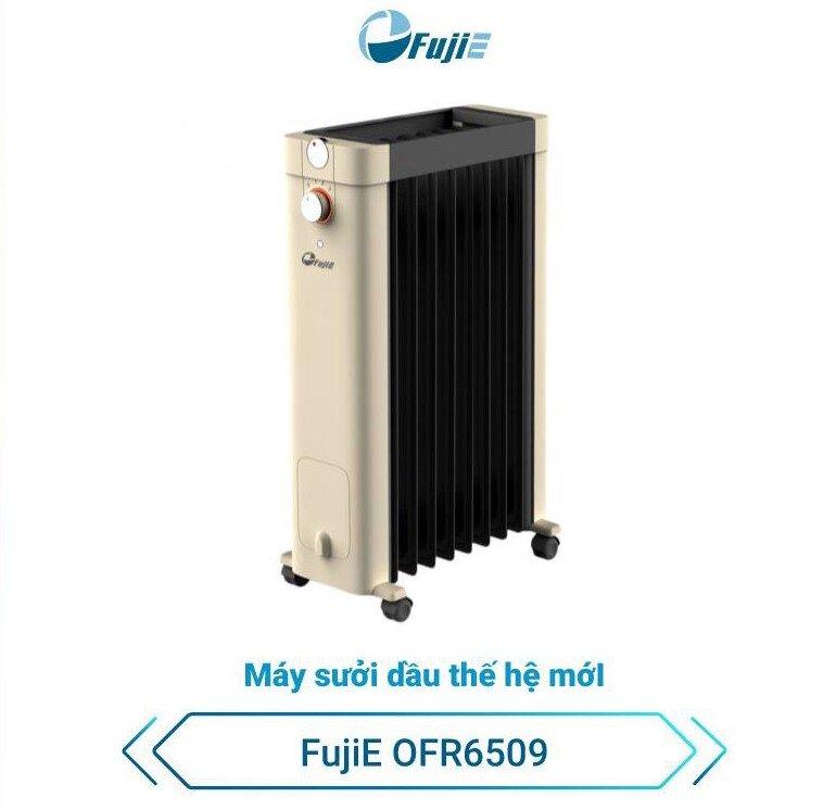 Máy sưởi dầu thế hệ mới FujiE OFR6509