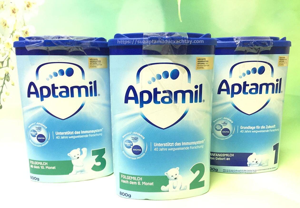 Review sữa Aptamil Anh có tốt không: Phân loại, Giá bán, Dinh dưỡng