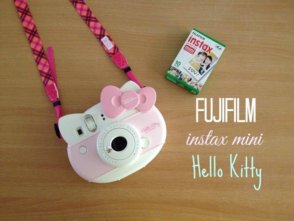 Máy ảnh chụp hình lấy ngay phiên bản Hello Kitty