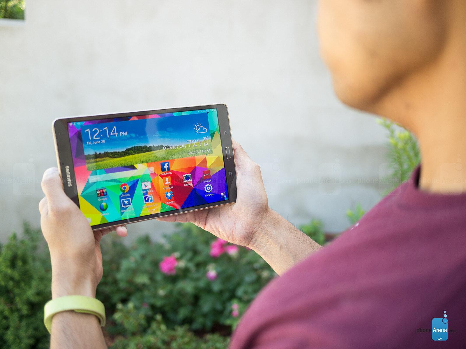 Samsung Galaxy Tab S cho hiển thị tối ưu hóa tốt nhất