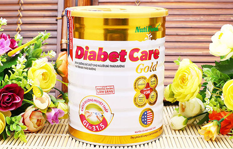 Sữa dành cho người tiểu đường DiabetCare Gold của Nutifood